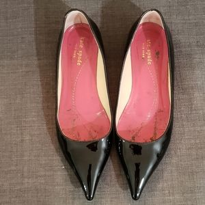 Kate Spade Pointy Patent Leather Flats